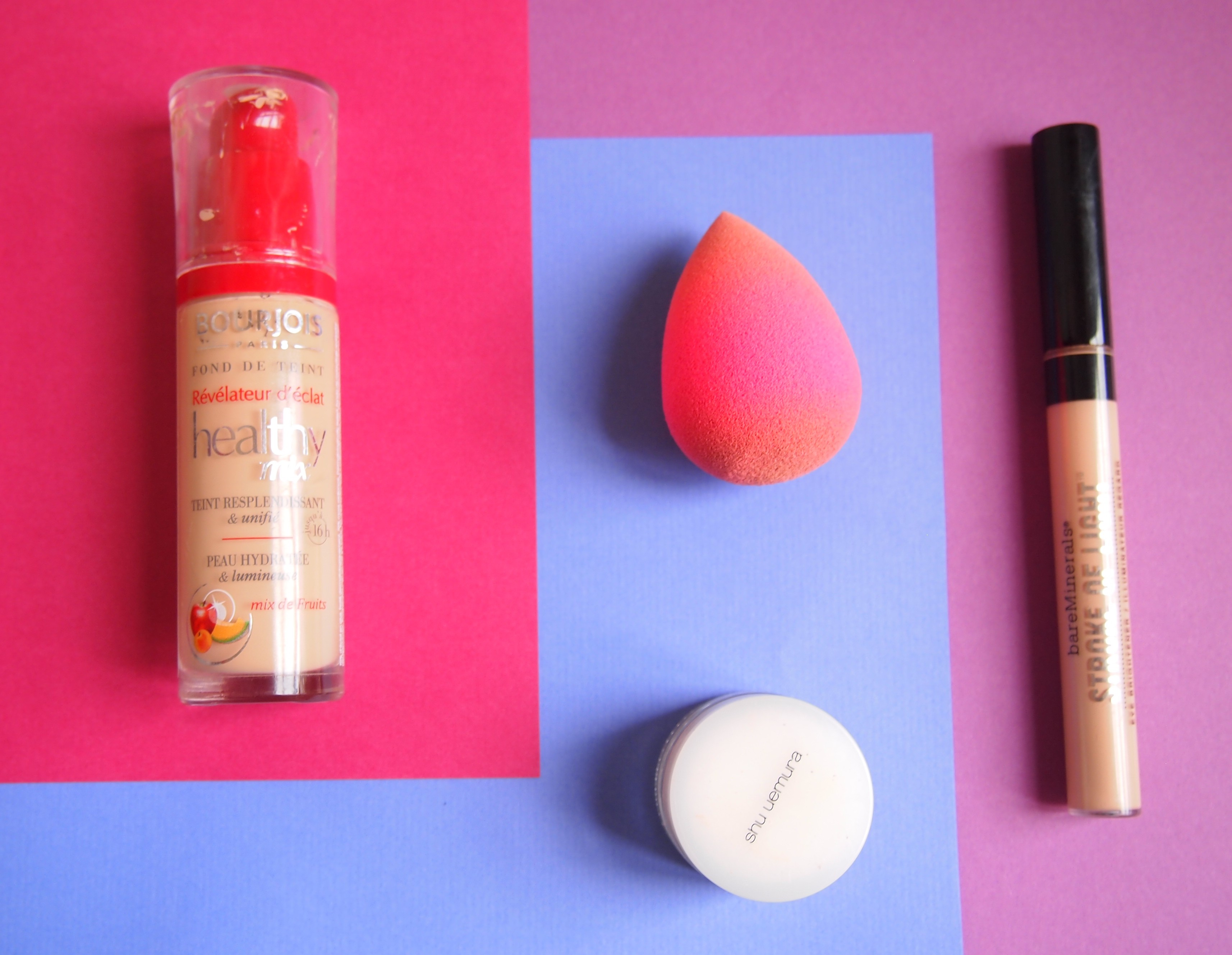 maquillage du teint